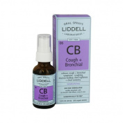 Liddell Homoeopathic Cough and Bronchial Spray - 30ml - Liddell Homoeopathic
