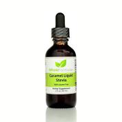 Whole Formulas Caramel Liquid Stevia, 60ml