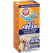 ONLY 2.5cm PACK Arm & Hammer Pet Fresh Carpet Odour Eliminator Plus Oxi Clean Dirt Fighters, 0.5kg