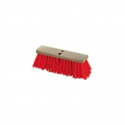 Carlisle 36111624 Flo-Pac Heavy Polypropylene Sweep, Crimped Bristles, 13cm - 0.3cm Bristle Trim, 41cm Length, Orange