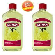 Weiman Lemon Oil with Sunscreen, 470ml