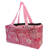 Baby Nappy Nappy Mummy Changing Bag Tote Waterproof Handbag Star Flower Pattern