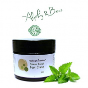 ORGANIC FOOT CREAM - Lavender - Cypress - Peppermint - Soothing & Refreshing