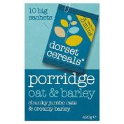 Dorset Cereals Proper Oat & Barley Porridge 10 x 42g