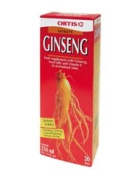 Ortis Ginseng and Vitamin E 250ml