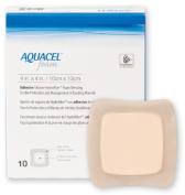 Convatec Aquacel Foam Dressing By ( Dressing, Aquacel Foam, Adhesive, 10cm x 10cm ) 10 Each / Box