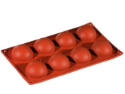 Formaflex Silicone Mould - Hemisphere ø 35 mm h 23 mm 8 indents