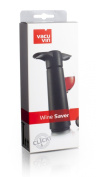 Vacu Vin 981460 Wine Saver Vacuum Wine Pump with 2 Stoppers