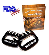 Bear Claw Meat Claws Pulled Pork Shredder Shredding Forks Smoked BBQ Meat Grilling Pork Shredder Pulled Pork Claws for Meat Smoker & Barbecue Tools. Call in the Bear Claw.