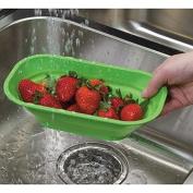 2 Progressive PrepSolution Mini Collapsible Colander Kitchen Rinsing Strainer
