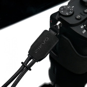 Gariz Special Alcantara Version XS-WBA1 Hand Strap for Mirrorless and Other types of Camers Black Charcoal Grey