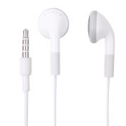 Fosmon (5 Pack) 3.5mm Earphone Headphones with Microphone for Apple iPhone 6 / 6 Plus / 5 / 5S / 5C / 4 / 4S, iPod 2G / 3G / 4G / 5G / iPad Air 2 / 1, iPad Mini 3 / 2 / 1 - White
