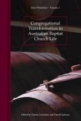 Congregational Transformation in Australian Baptist Church Life