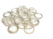300pcs Firm Large Jump Rings Fit For Scarf Jewellery, Silver 12mm, Gauge 16 US Seller Receive In 4 Days