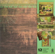 Hot Off The Press - Trail Blazer Double-Sided Scrapbooking Papers