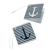 Nautical Gift Wrap Party Favour Tags - 24 pc