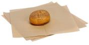 Bundleofbeauty Item#6445hy- 100 Sheets 30cm X 30cm Natural Kraft Food Picnic Basket Hamburger Paper Liners & Wrapping Tissue