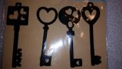 Feltables Fashion Four Keys