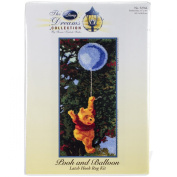 M.C.G. Textiles 52766 Pooh and Balloon Rug Disney Dreams Collection by Thomas Kinkade Latch Hook Kit, 43cm by 90cm