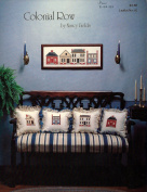 Colonial Row Needlepoint Pattern 4 Houses Leaflet No. 2