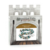 Weave Got Maille Shaggy Loops Chain Maille Bracelet Kit, Sedona