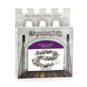Weave Got Maille Shaggy Loops Chain Maille Bracelet Kit, Wine Country