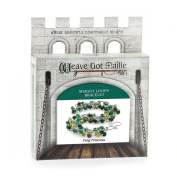 Weave Got Maille Shaggy Loops Chain Maille Bracelet Kit, Frog Princess