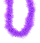 Touch of Nature 1-Piece Feather Marabou Boa for Arts and Crafts, 2-Yard, Plum