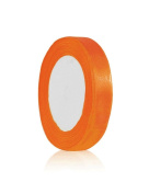 Zacoo Solid Satin Ribbon 25 yards roll Orange