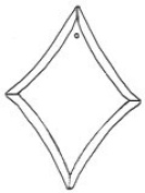Stained Glass Supplies - Bevel-diamond