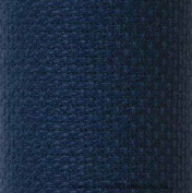 Navy Blue - Cross Stitch Fabric 14 Count Aida 30cm X 46cm by M. C. G. Textiles