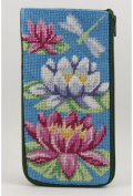 Eyeglass Case - Waterlily - Needlepoint Kit