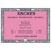 Arches Watercolour Block 60kg Hot Press 20 Sheets 36cm x 50cm
