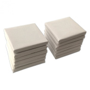 LWR Crafts Mini Stretched Canvas 7.6cm X 7.6cm Pack of 12