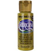 DecoArt Americana Acrylic Paint, 60ml, Golden Straw