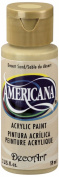 DecoArt Americana Acrylic Paint, 60ml, Desert Sand