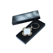 12pcs 7.8x4.5cm Rhomb Key Rings Sublimation Heat Transfer