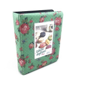 Hellohelio Fuji Instax Photo Album for Fuji Instax Mini 7s /8/ 9S/25/54s/ Polaroid Cameras