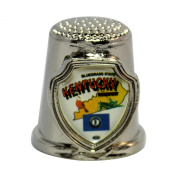 Souvenir Thimble - Kentucky