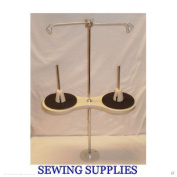 All Metal 2 Spool Industrial Sewing Machine Thread Stand