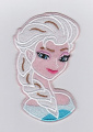 Frozen Elsa Snow Queen Smiling Patches - Iron on/Sew On/Applique/Embroidered