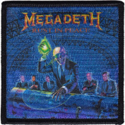 Megadeth - Alien - Iron on or Sew on Embroidered Patch