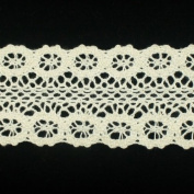 5 yards of Ivory Cotton Torchon Lace Trim Cotton Ribbon Trim Decoration Ribbon trim fabric Millinery accent motif for baby headband hair accessories dress accessories by Annielov trim #158