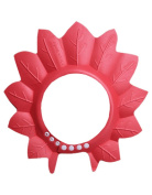 Creative Children's Bath Cap / Shower Hat Can Be Adjusted Red Maple Leaf