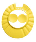 Creative Children's Bath Cap / Shower Hat Can Be Adjusted Yellow
