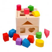 Children's Educational Wooden Block Construction Toy