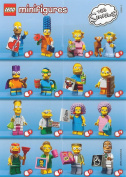 Lego Simpsons Series 2 - FULL COMPLETE SET of 16x Minifigures - 71009