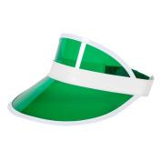 Green Visor Hat Outfit accessory for Poker Vegas Fancy Dress