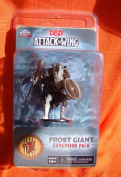 Wizkids Dungeons and Dragons Attack Wing Expansion Frost Giant Board Game
