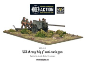 War Gaming - US Army 7.6cm Anti-Tank Gun - Warlord Games